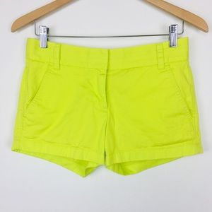 J Crew weathered broken in classic twill shorts